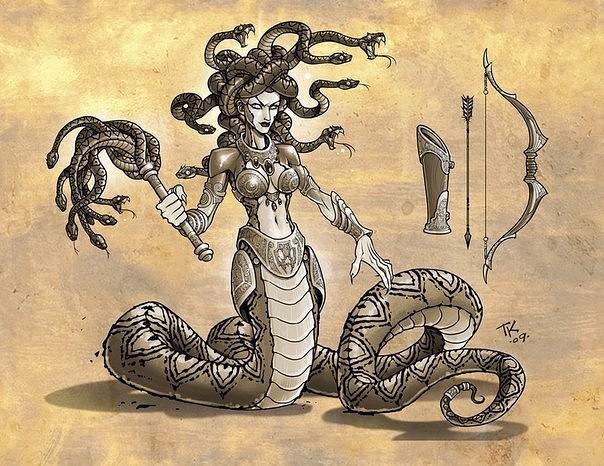 Тифон и ехидна и сущности, которых они породили. тифон - античная мифология