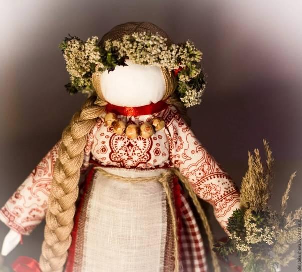 Кукла «берегиня рода» – женская санга