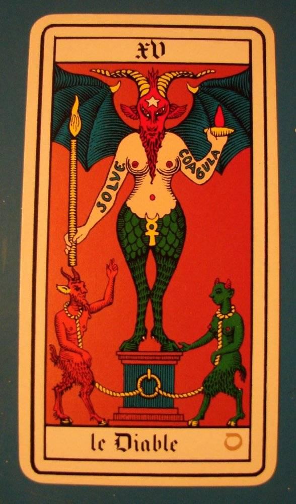 Дьявол таро манара: общее значение в отношениях, толкование аркана