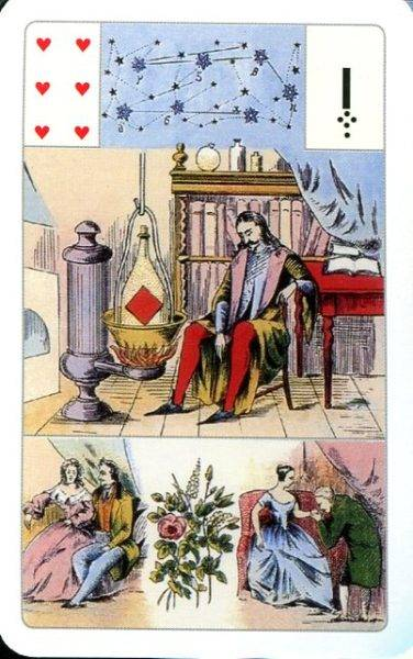 Гадание мадам ленорман — плод дара ясновидения
