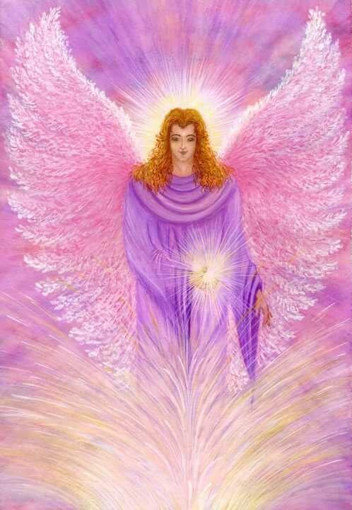 Архангел задкиил: воплощение фиолетового пламени