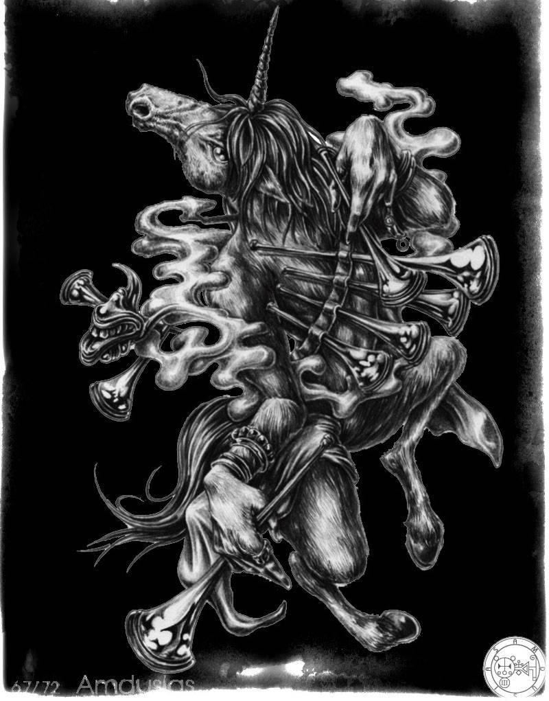 Вторая часть списка демонов Гоетии с фото