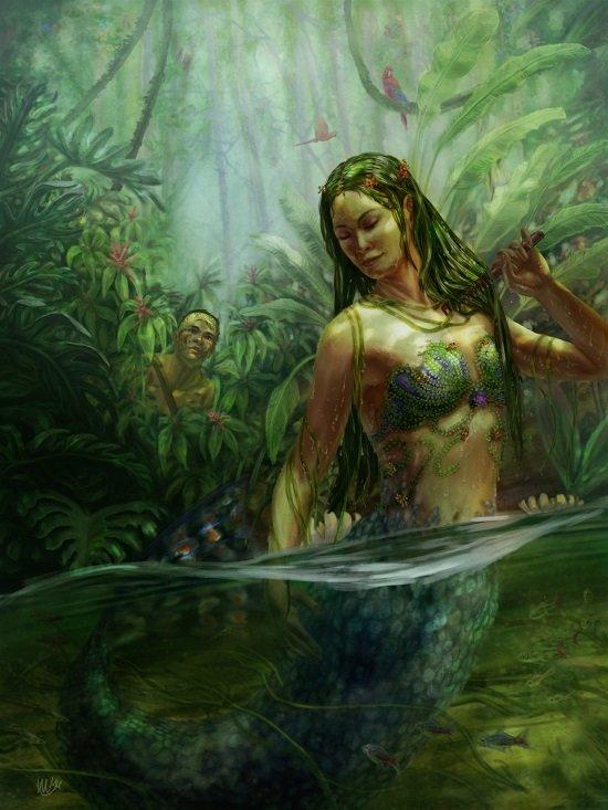 Водяной | bestiary.us