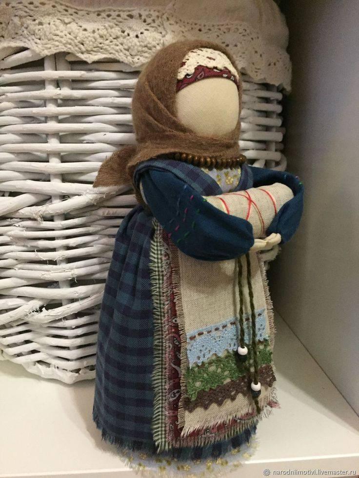 Сила и важность куклы-оберега на беременность. новгородская беременная кукла кукла на рождение ребенка своими руками
