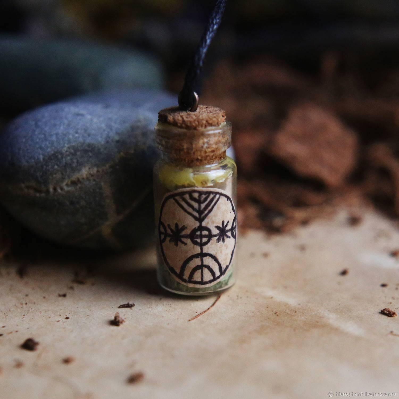 Ведьмина бутылка - лучшая защита! как изготовить?