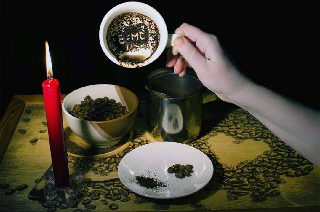 Гадание на кофейной гуще — что значат эти символы?