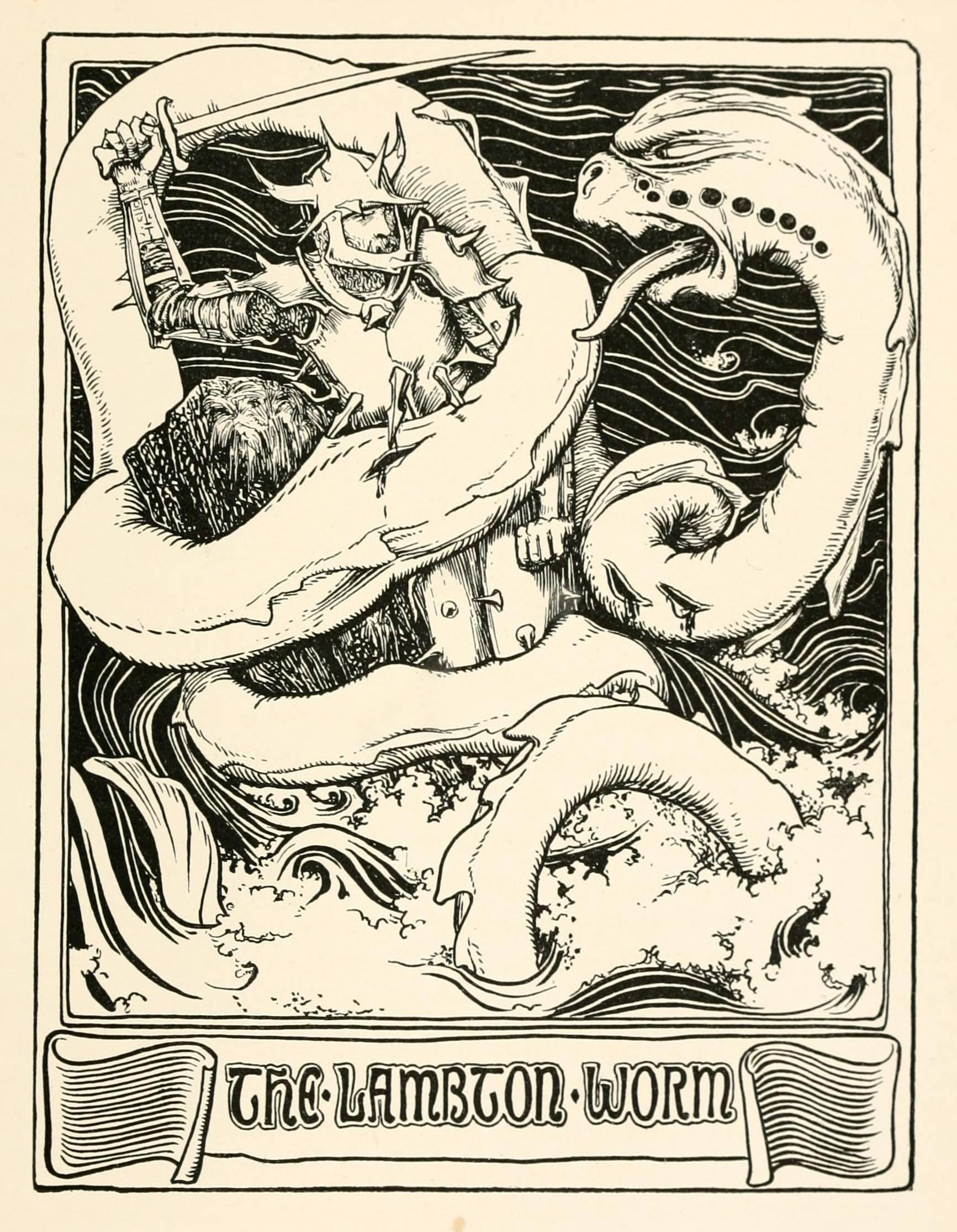 Ламбтонский червь - wi-ki.ru c комментариями