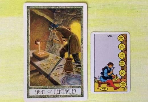 8 (восьмерка) кубков таро: значение в отношениях, работе, любви, сочетание
