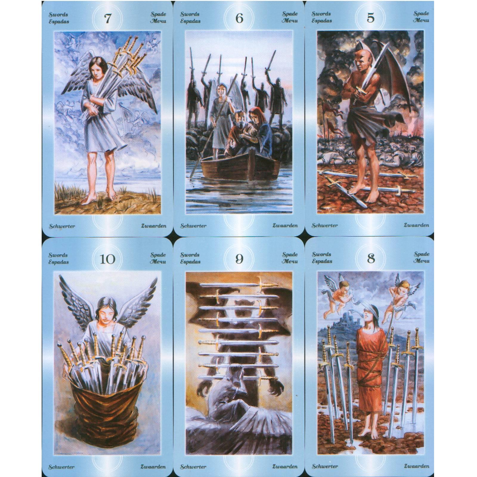 Таро ангелов хранителей: гадание, расклады, значение карт, галерея