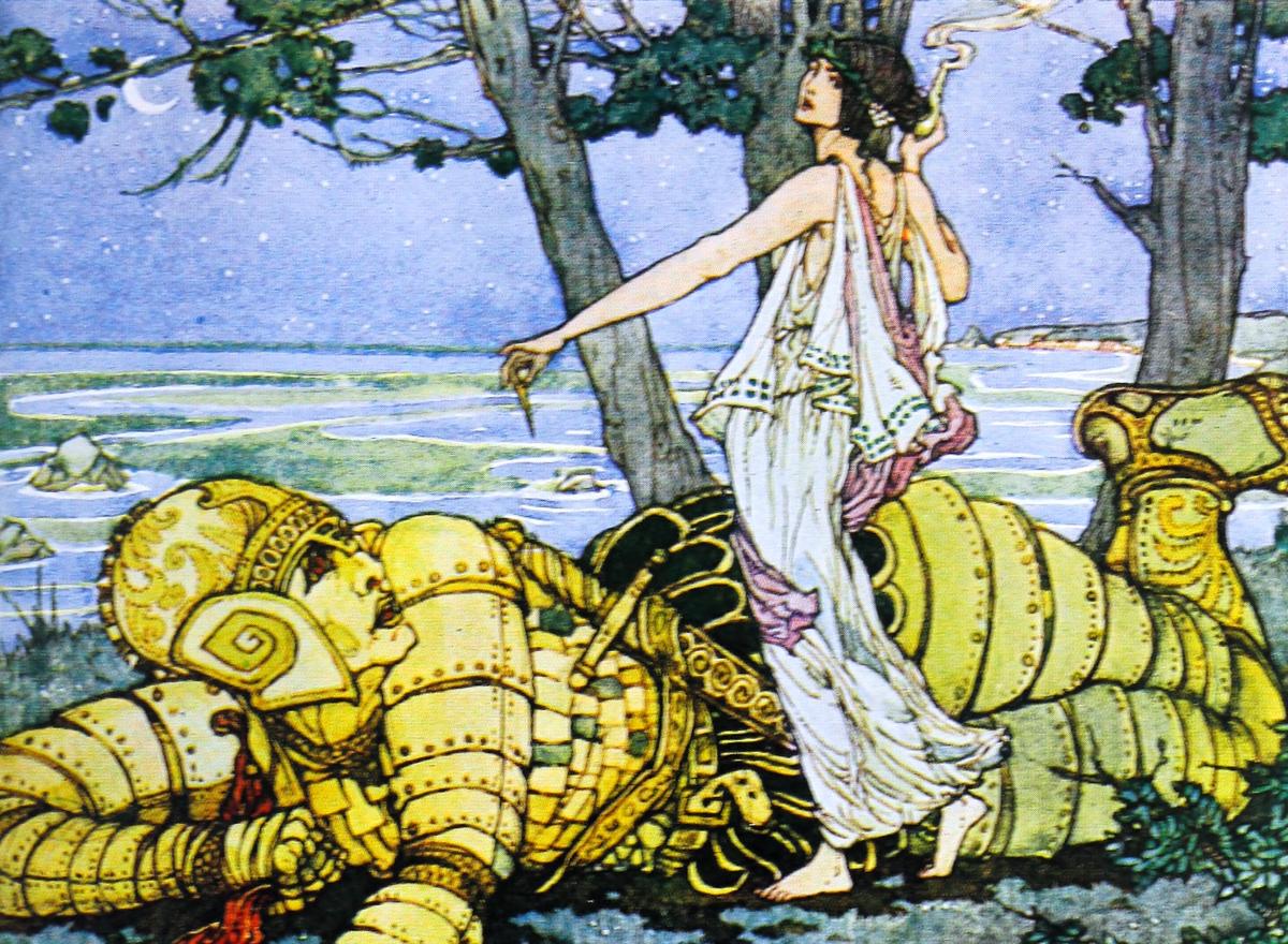 Талос в греческой мифологии — медный защитник острова крит