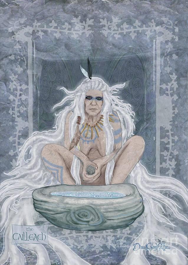 Кэйлик Бхир — олицетворение зимы в кельтских мифах