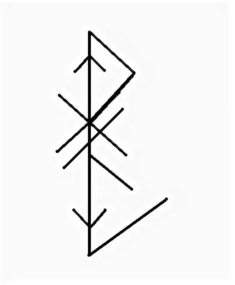 Рунный став «высокое место»
