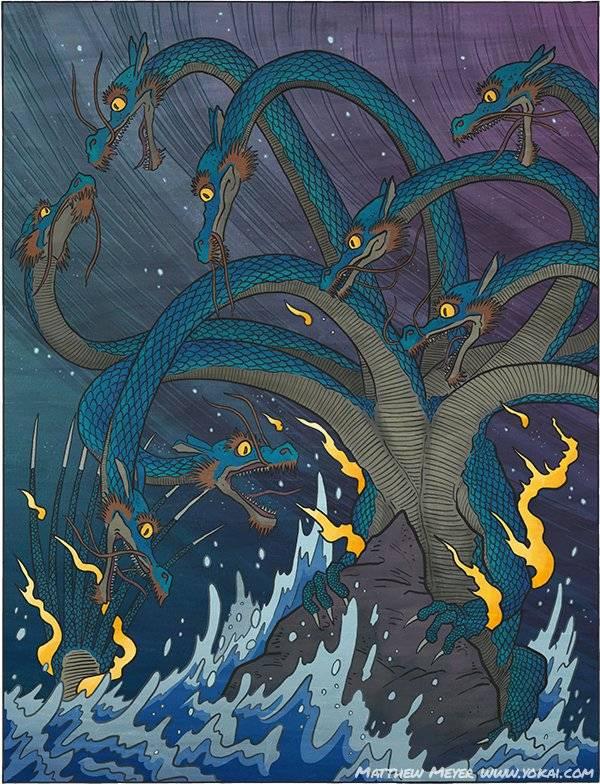Дракон японский. легенды и мифы японии о драконах