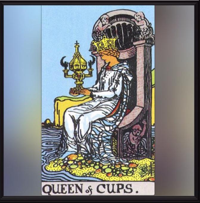 Королева Кубков — значение и толкование карты