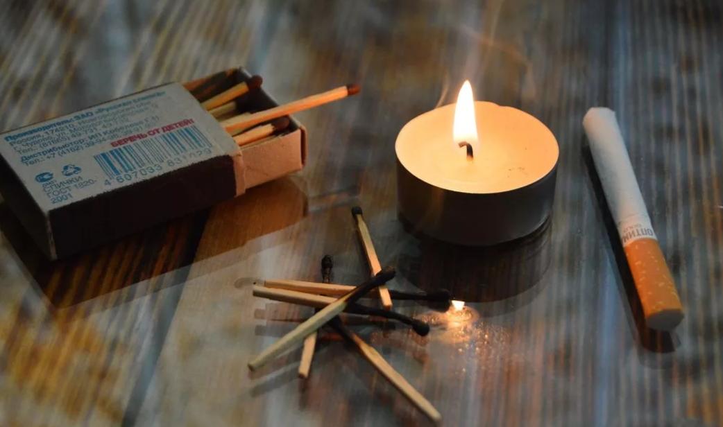 Как сделать приворот на сигарете?
