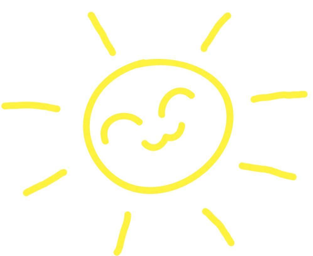 Двигающиеся солнце картинки