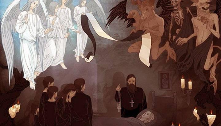 Душа после смерти: 3, 9, 40 дней после смерти