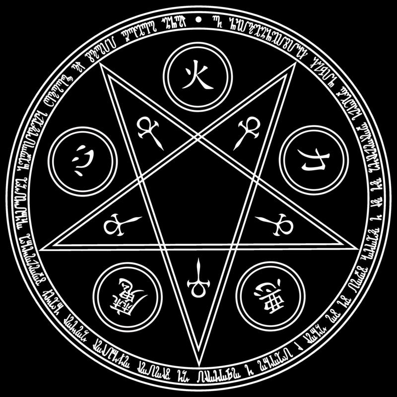 Тату пентаграмма: виды и значения звезды в круге