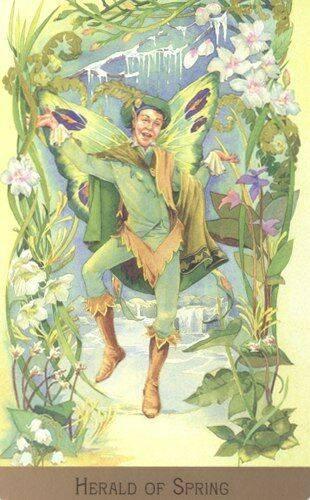 Таро викторианских фей: галерея, история создания, особенности