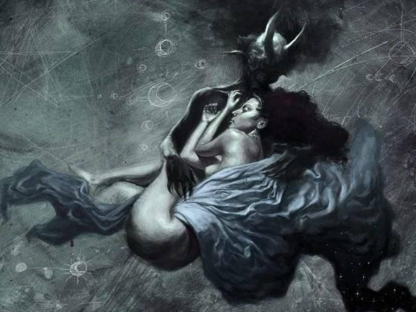 Демоница Касикандриэра — королева Ада и супруга Люцифера