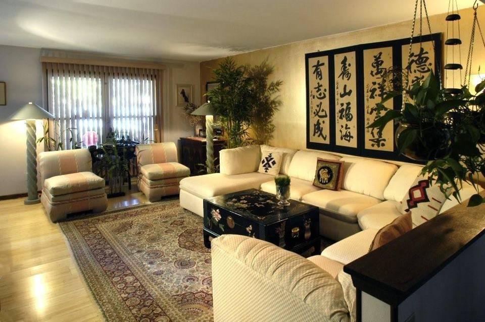 Кухня по фэн-шуй, правильное расположение мебели, зеркала, часов, штор, растений и картин в интерьере