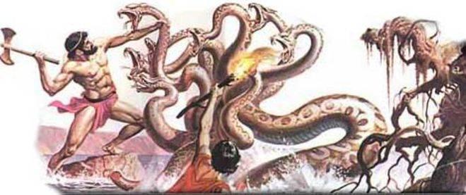 Змея альбинос с двумя головами. амфисбена — двуглавая змея из древнегреческих мифов