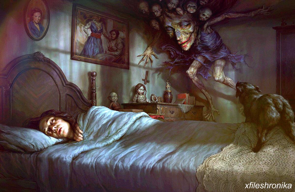 Сонный паралич (синдром старой ведьмы): причины, симптомы, лечение