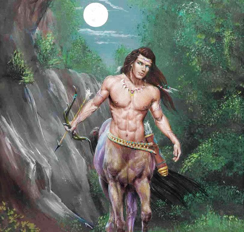 Кентавры - истреблённые существа древней греции