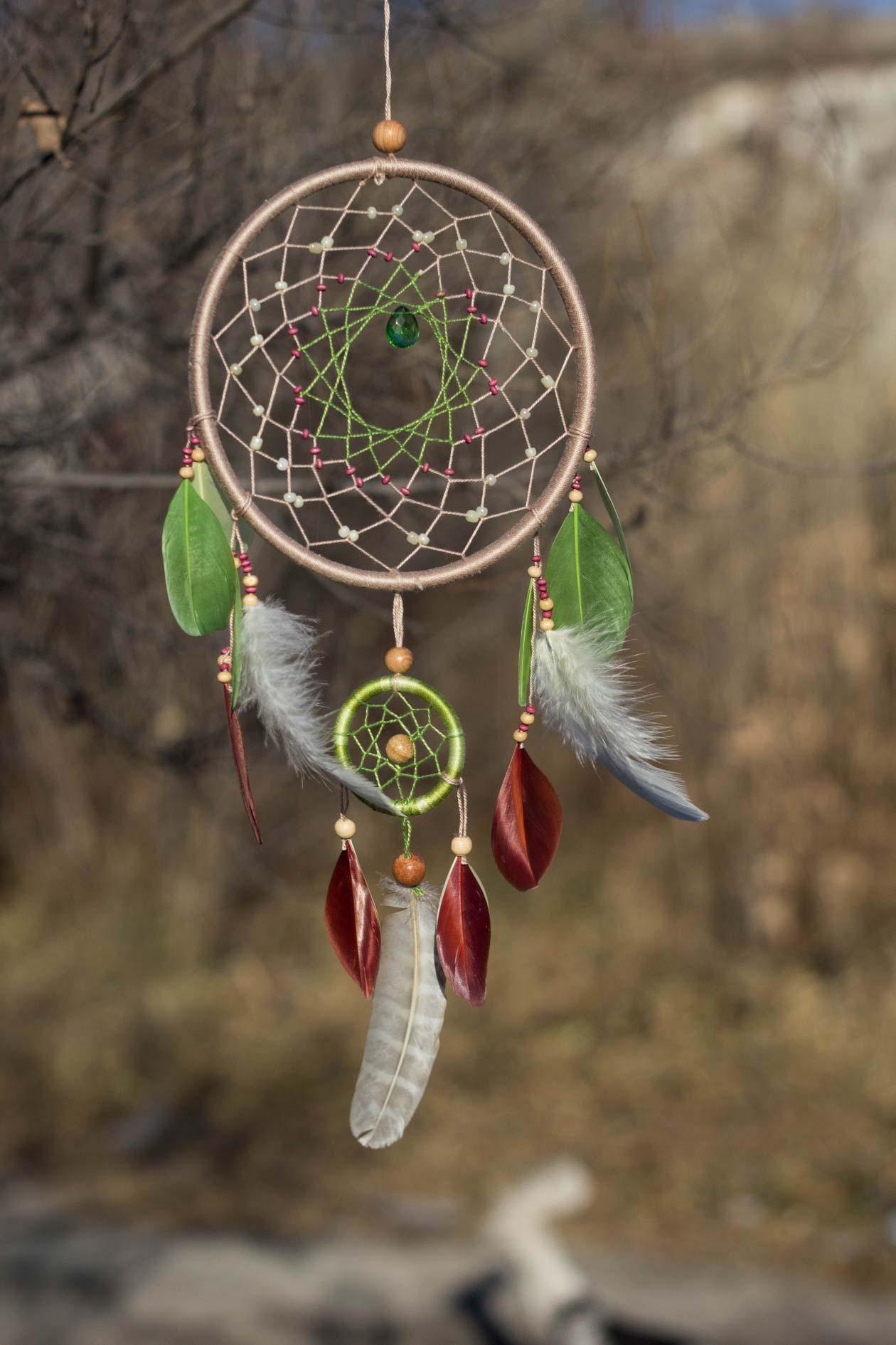 Кратко что такое ловец снов. значение ловца снов и история его появления. фотогалерея: вышитый ловец снов