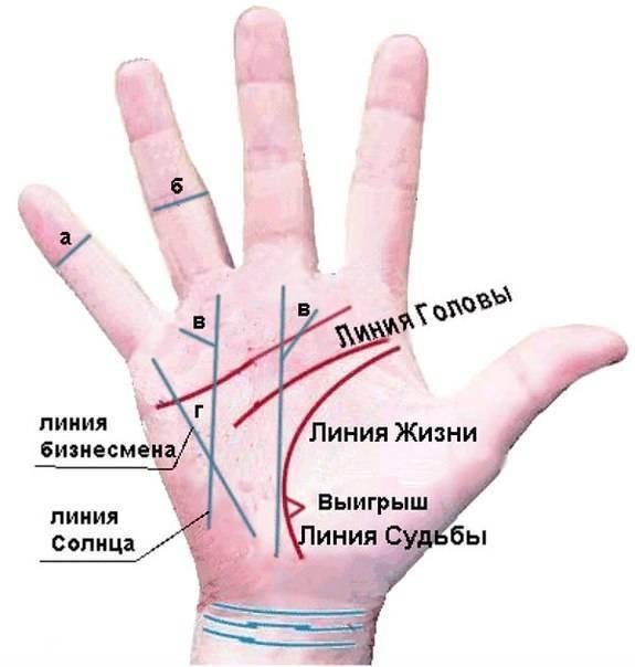 Треугольник на линии Ума и его значимость при чтении на ладони