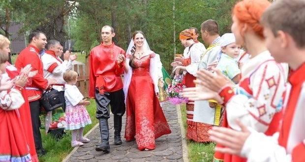 Свадебный обряд русского народа