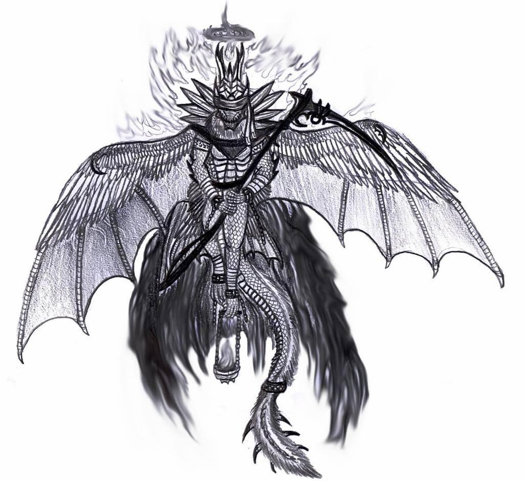 Ангел самаэль — владыка ада и покровитель смерти