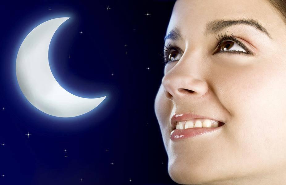 Сильный отворот на растущую или убывающую луну