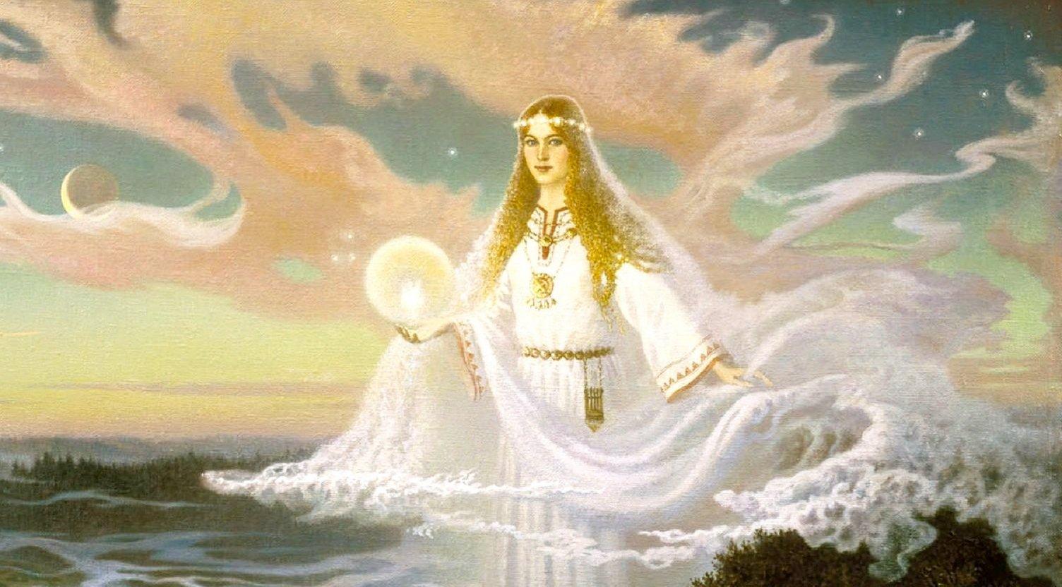 Славянская богиня лада - покровительница любви и красоты :: syl.ru