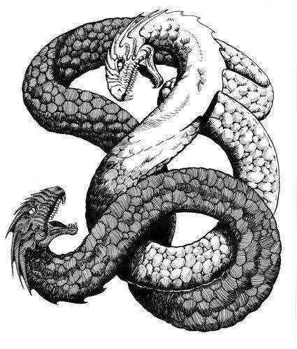 Амфисбена — двуглавая змея из древнегреческих мифов. чудо-змея с двумя головами родилась в сша змея альбинос с двумя головами