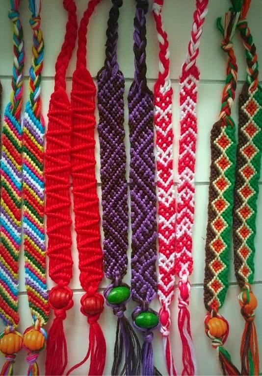 Браслеты из ниток: фенечка, шамбала и другие