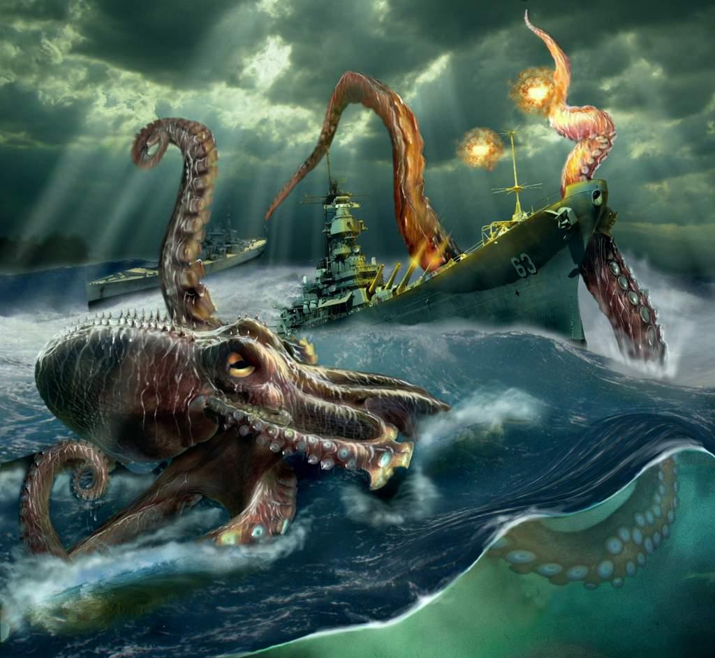 Кракен — зловещая тайна океанских глубин (8 фото). кракен — легендарное чудовище из морских глубин пираты карибского моря кракен выбросился на берег
