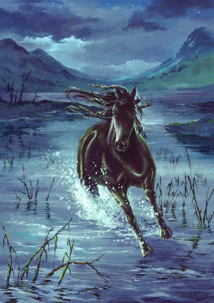 Келпи — лошадь из мифологии