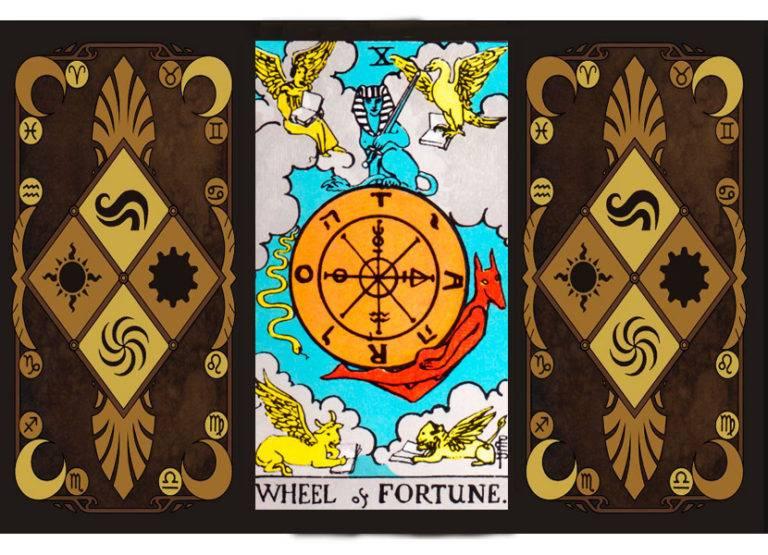 Колесо фортуны таро: значение в отношениях, здоровье, работе и духовности