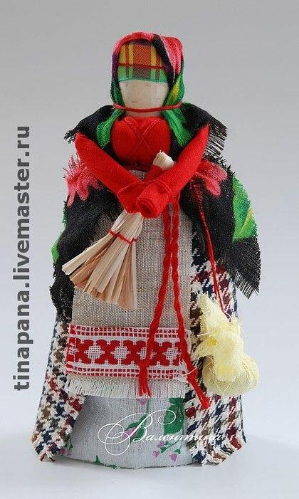 Как сделать своими руками куклу зерновушку или крупеничку