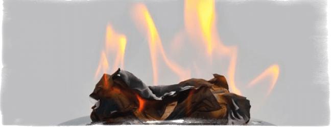 Гадание по теням от сгоревшей бумаги: фигуры, значение