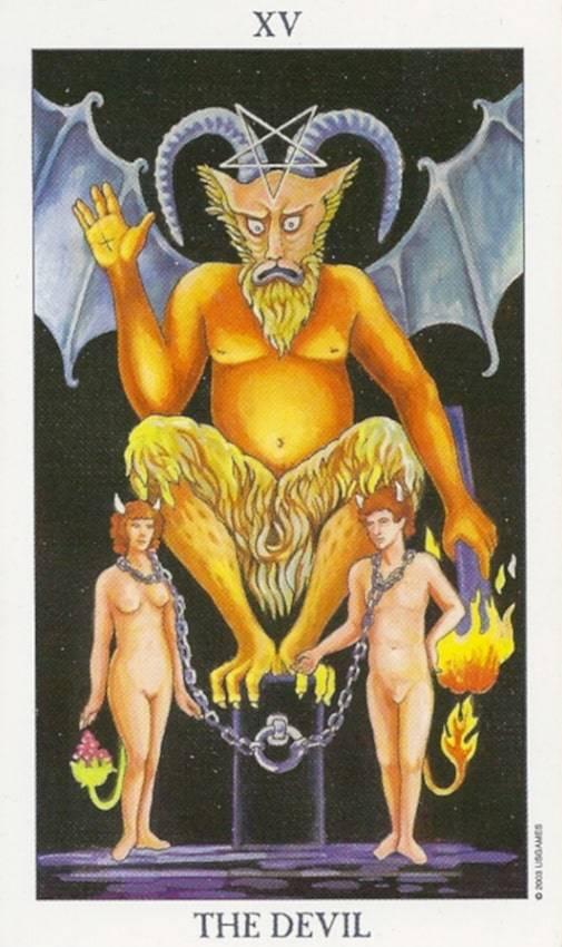 Дьявол в Таро — значение и толкование карты