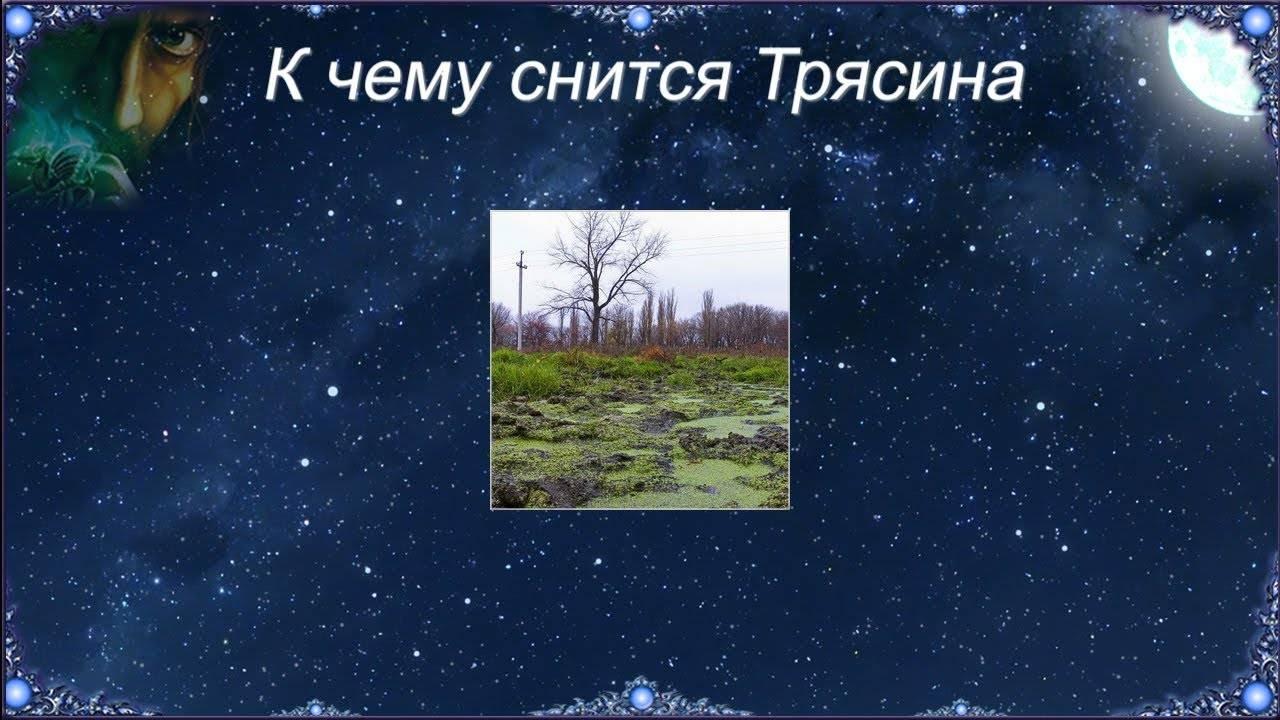 Сонник яма болото. к чему снится яма болото видеть во сне - сонник дома солнца