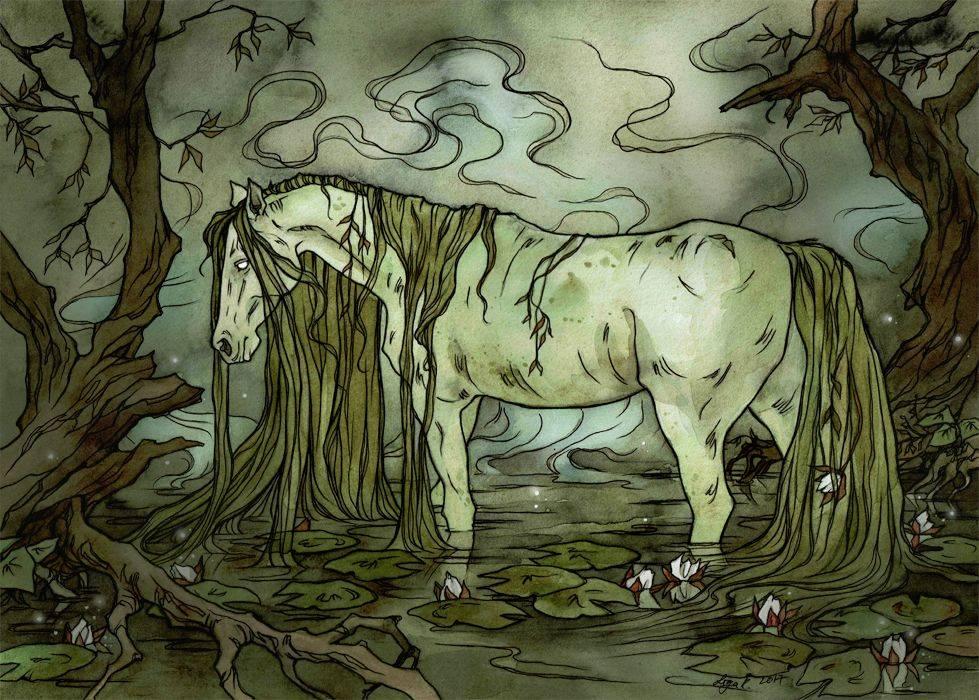 ⓘ водяная лошадь - вымышленное существо, характерное для мифол