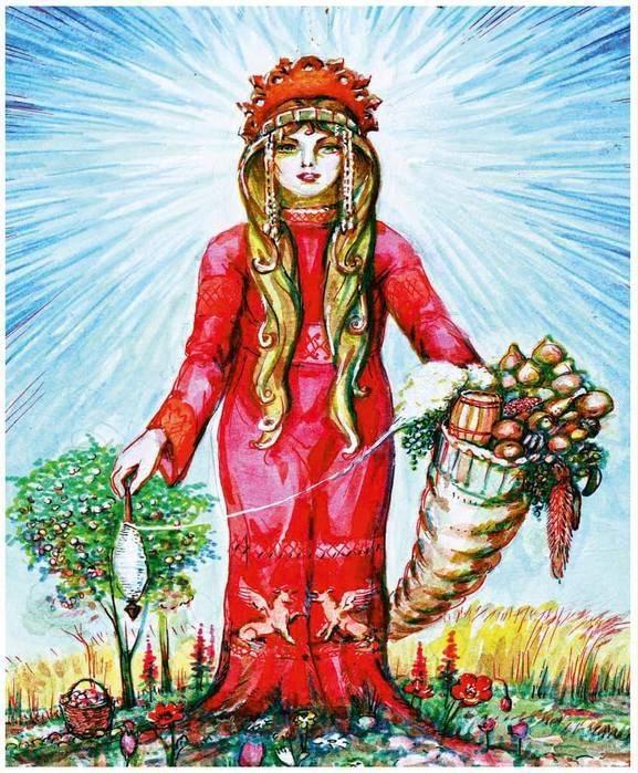 Берегиня — славянская богиня, защитница достойных людей