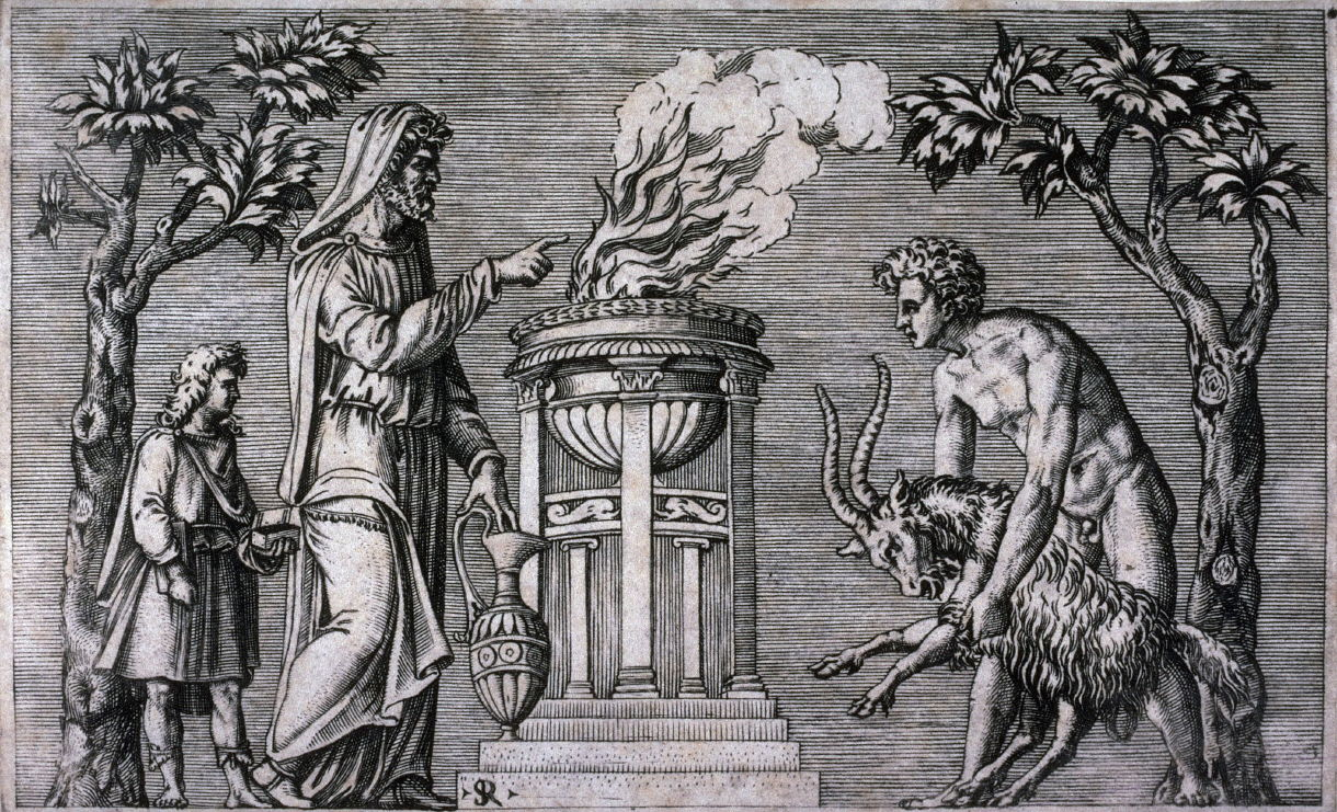 Боги древнего рима – список и описание
