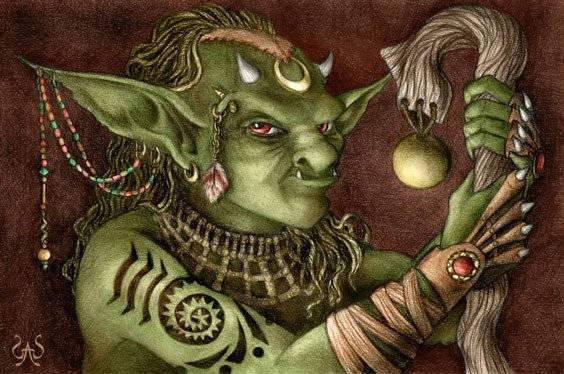 Мир фантазий: гоблины – уродливые человекоподобные демоны