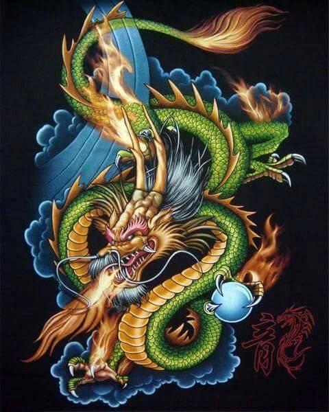 35 тату дракон: значение мифического существа для девушек и парней