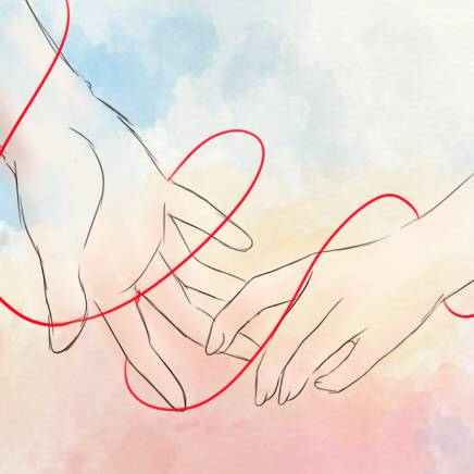 Красная нить на запястье — значение зависит от руки