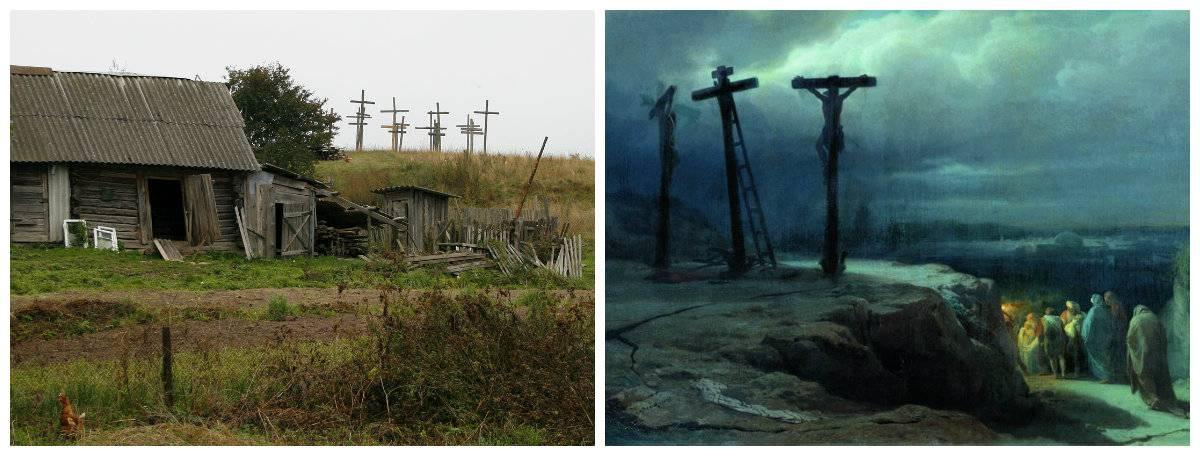 Гримы — обитатели заброшенных церквей и вестники смерти